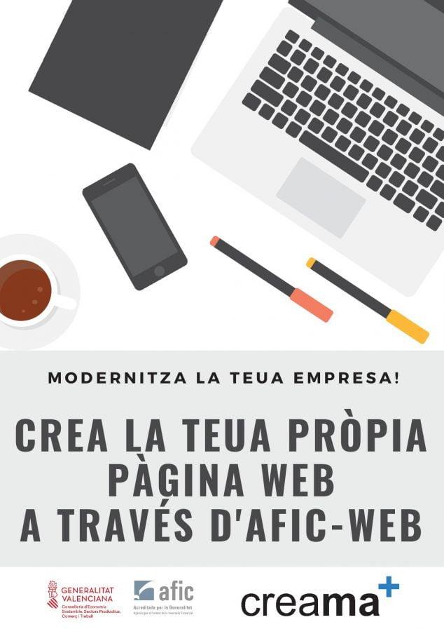 Imagen: Proyecto AFICWEB de Creama