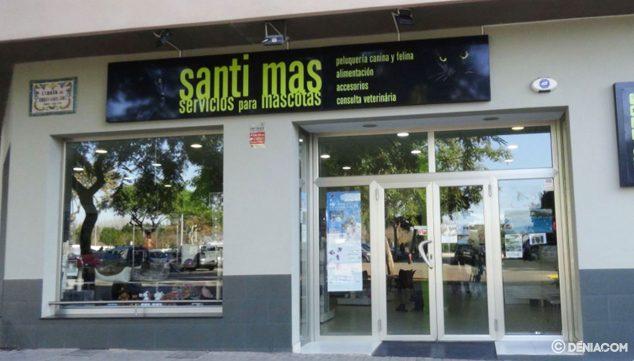 Imagen: Fachada de Santi Mas - Servicios para mascotas