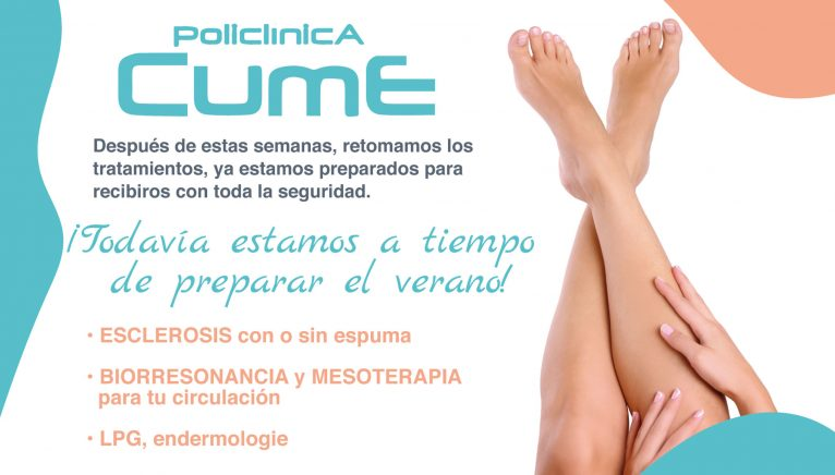 Treatment for varicose veins in Jávea, at CUME Polyclinic