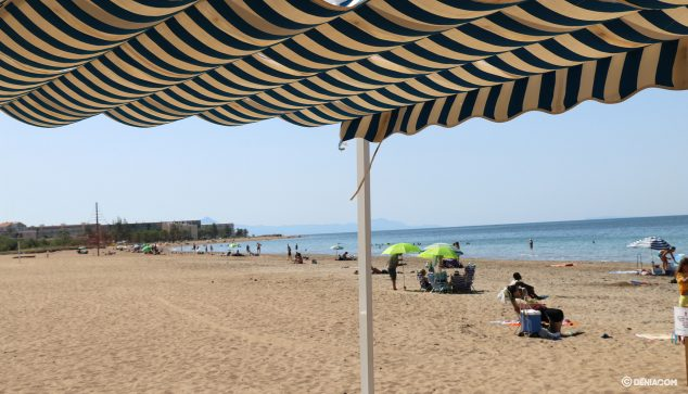 Image: Punta del Raset beach capacity