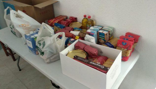 Imatge: Aliments recollits per la Oest