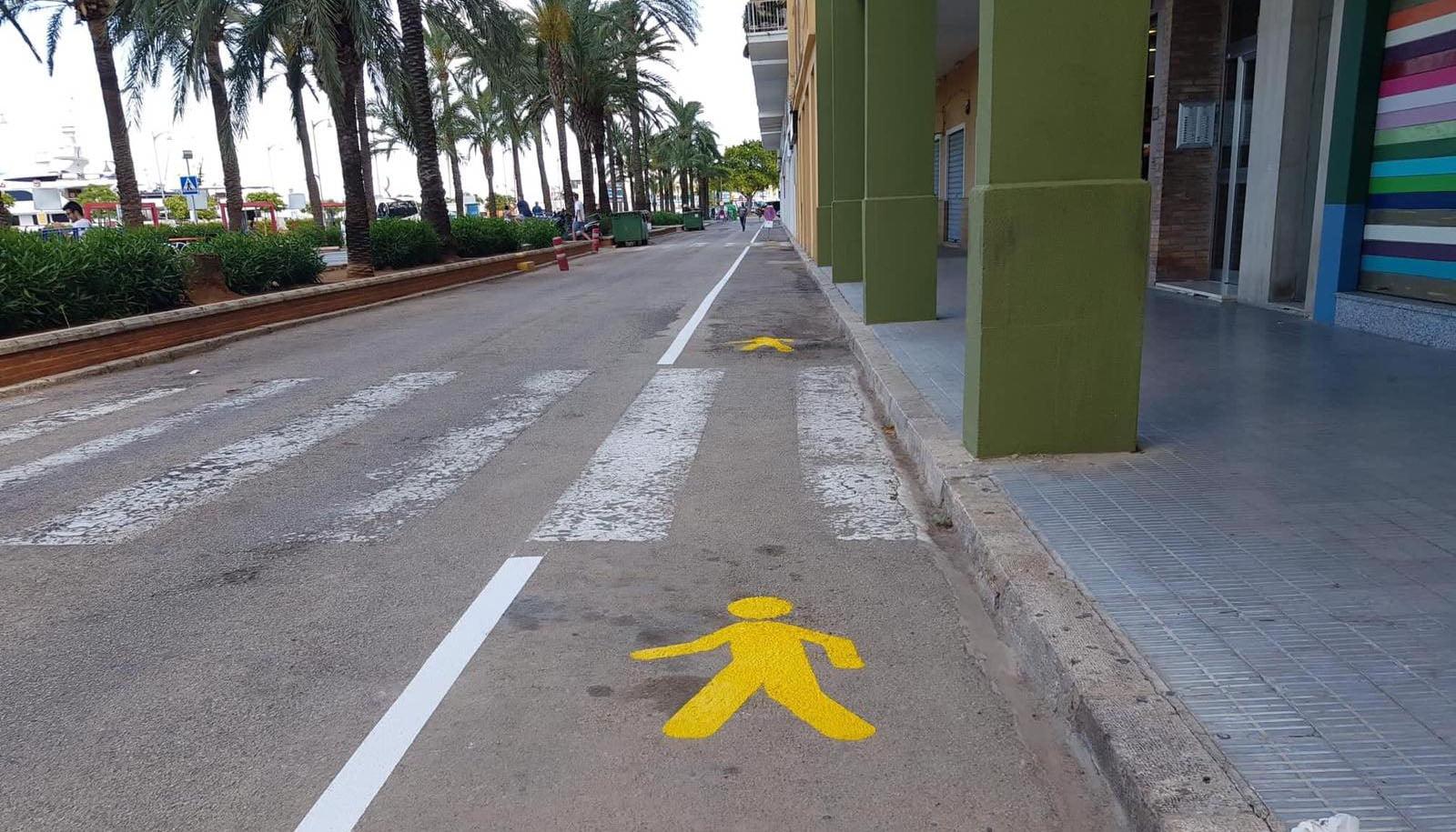 Expansion of the Explanada Cervantes pedestrian area