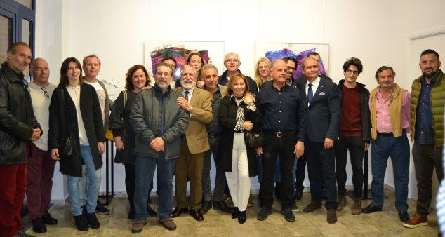Imagen: Artistas de la exposición colectiva