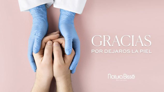 Imagen: Campaña para el cuidado de la piel de los sanitarios - The Reference Studio
