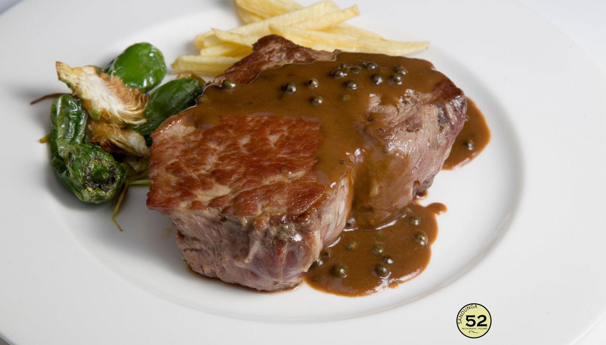 Tasty meat dish - Sandunga 52
