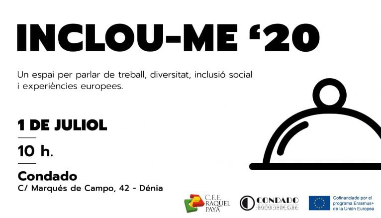 Cartel de INCLOU-ME 2020