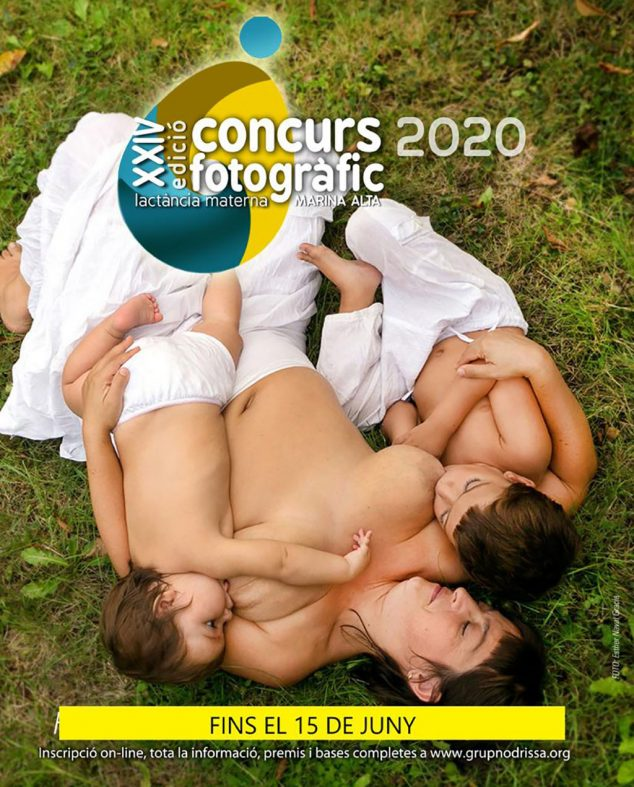 Image: Poster of the XXIV Marina Alta Breastfeeding Photo Contest