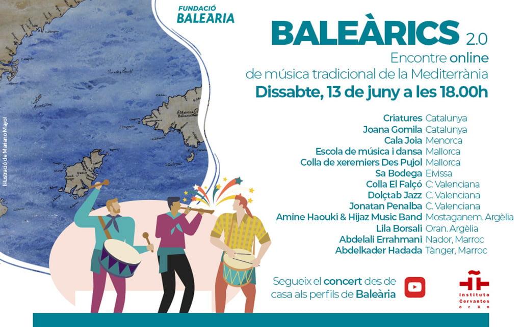 Cartel encontre música mediterrània