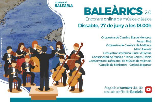 Image: Affiche de rassemblement de musique classique