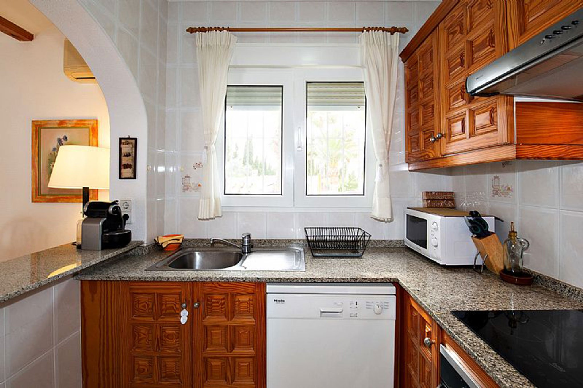 Kitchen of a chalet for sale in Dénia - Euroholding