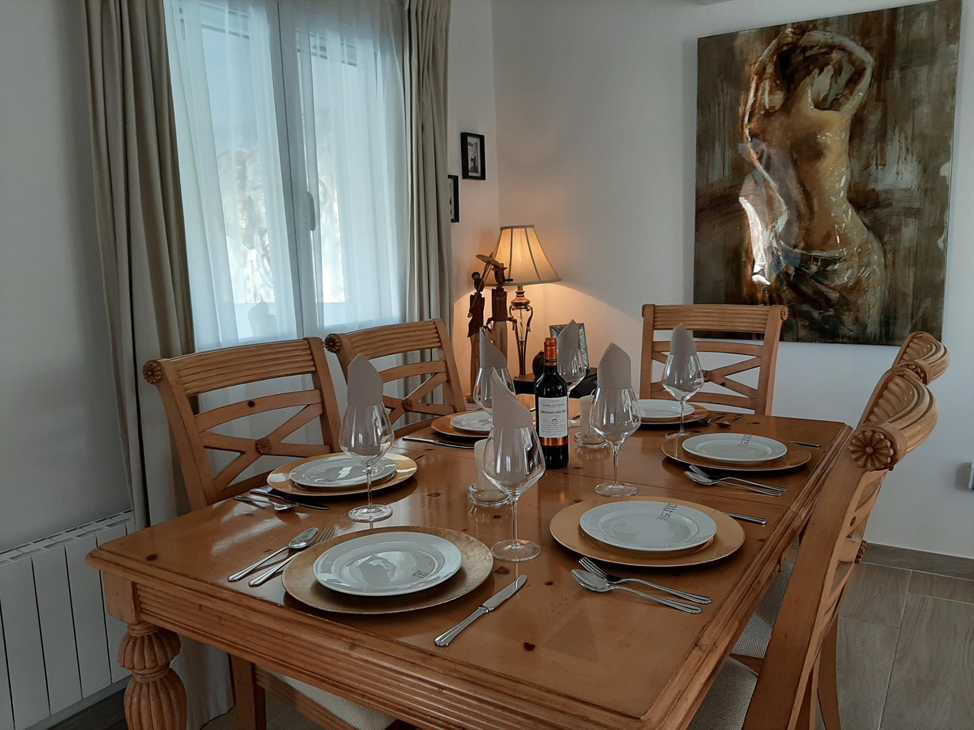 Dining room of a holiday rental villa in Dénia - Aguila Rent a Villa