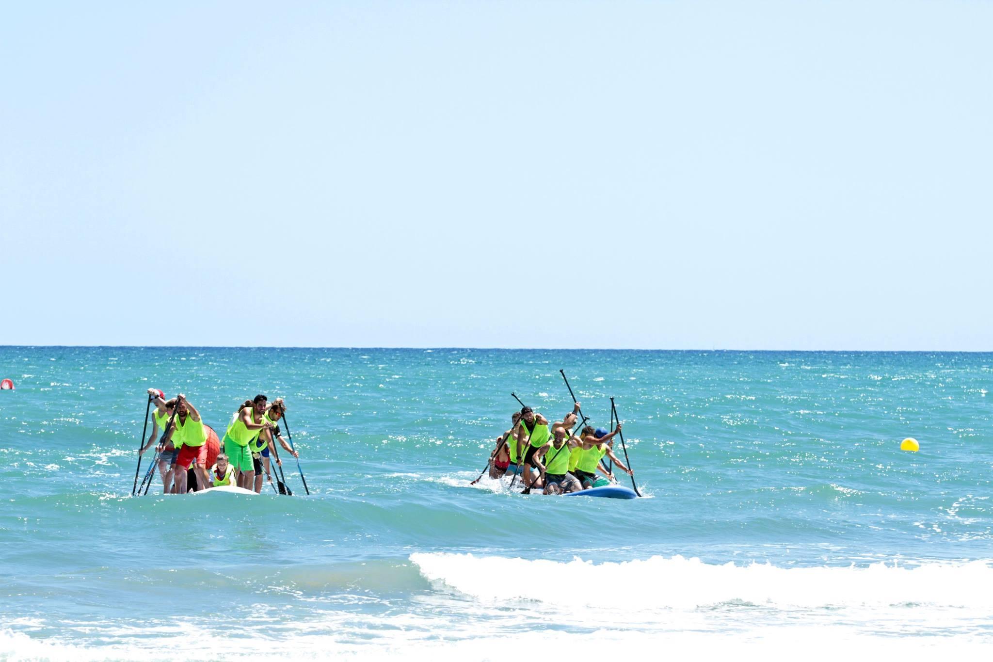 Competición Big Sup – Se ve con facilidad a los rider, también con sol