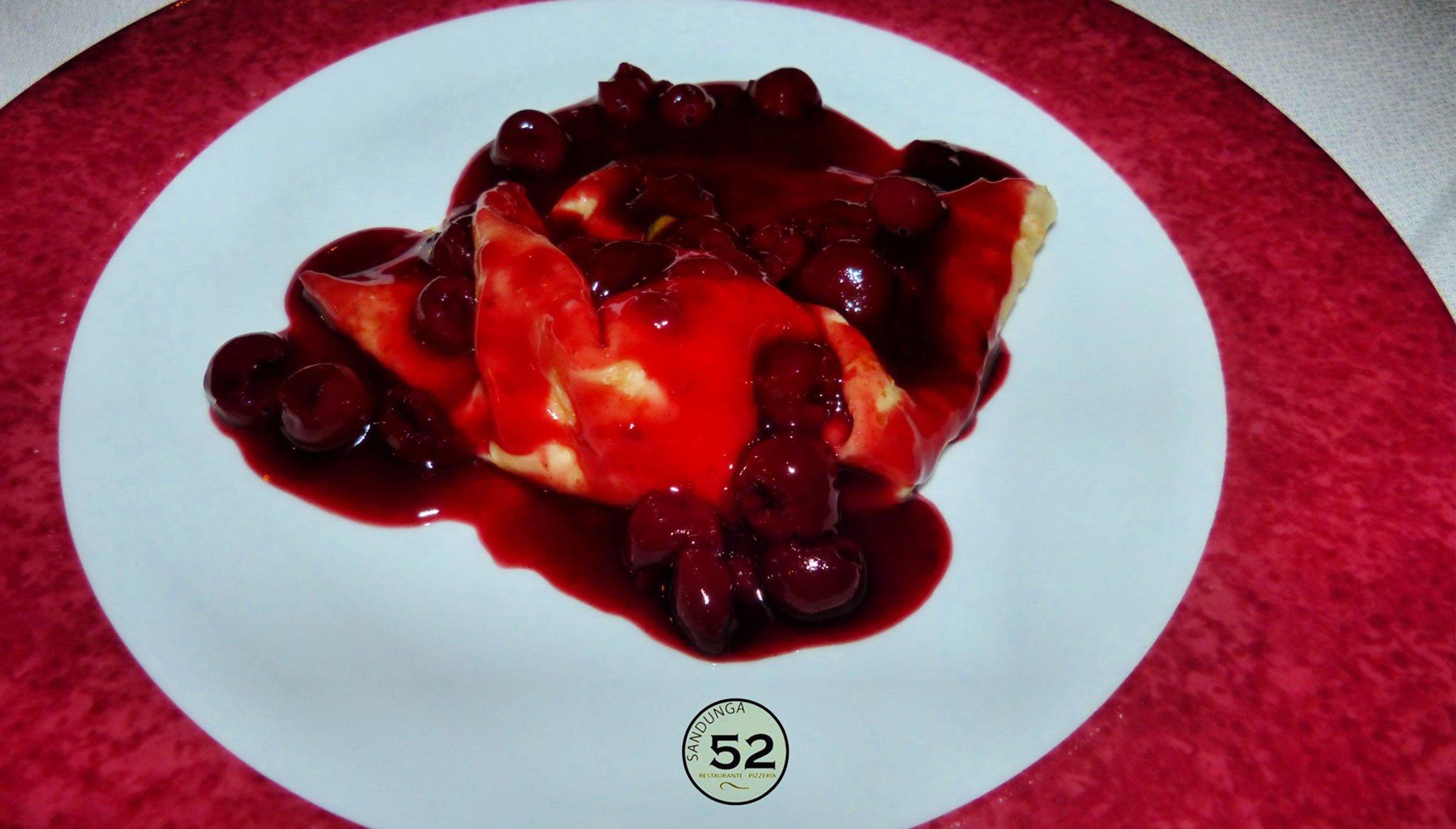 Crepe de cereza – Sandunga 52