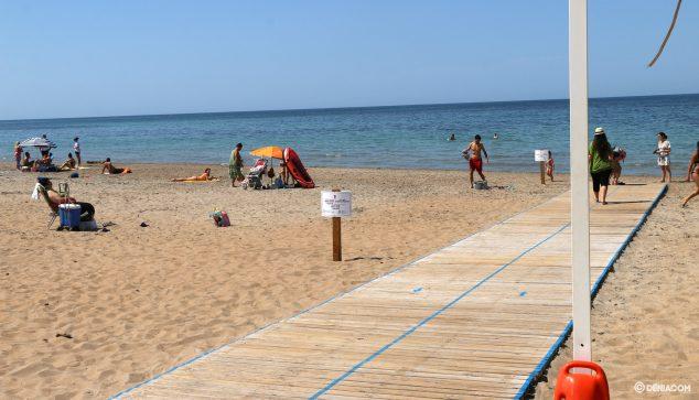 Imagen: Delimitación en Punta del Raset