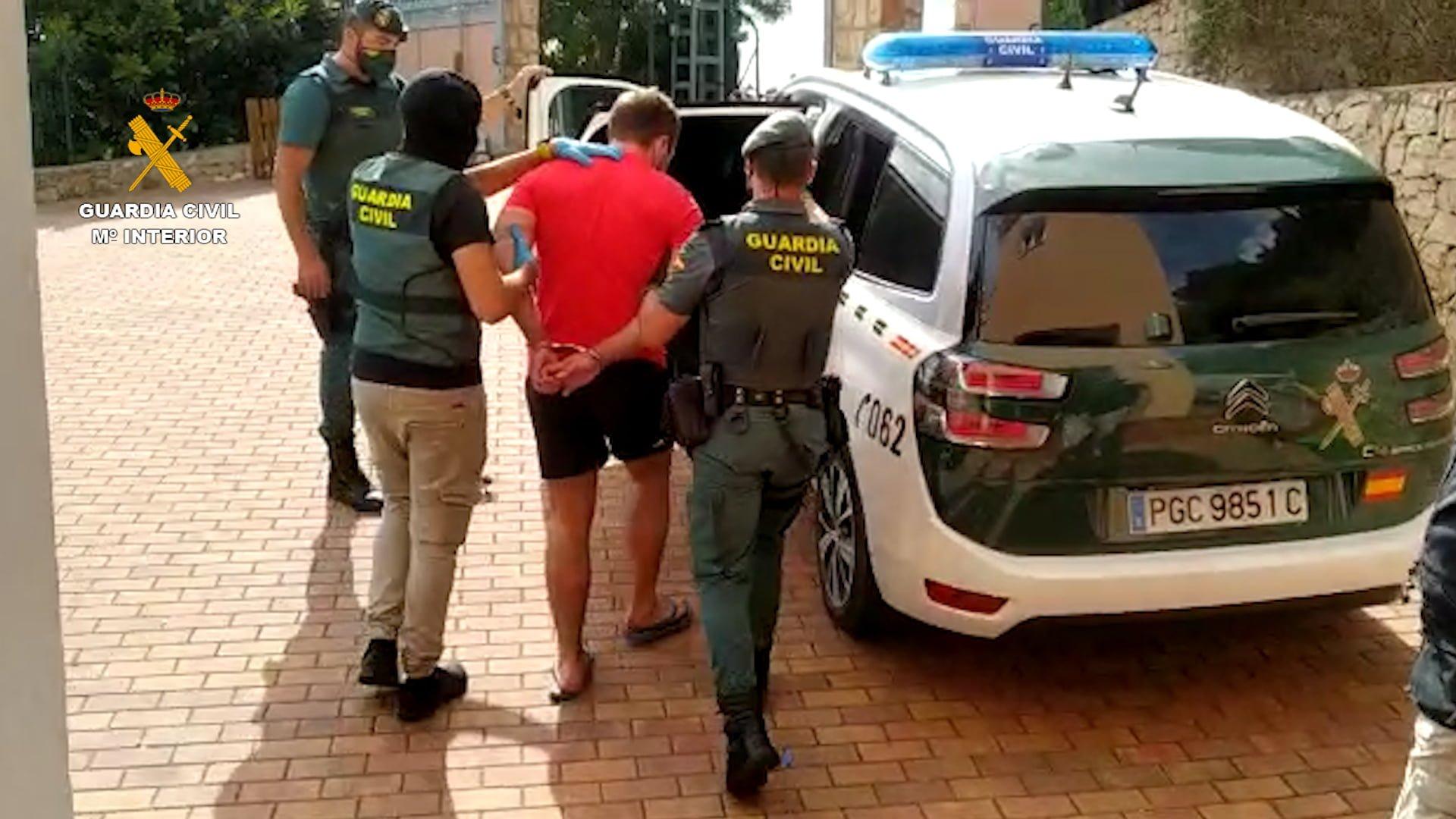 Detenido Operación Chonko