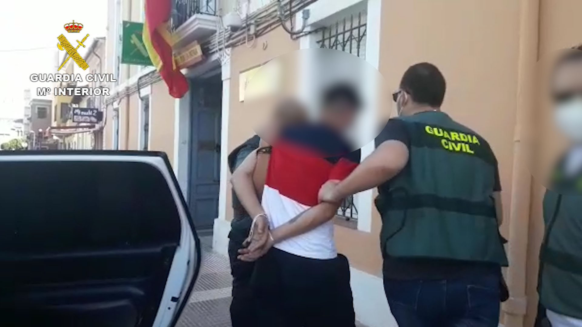 Detained by the Benidorm Civil Guard