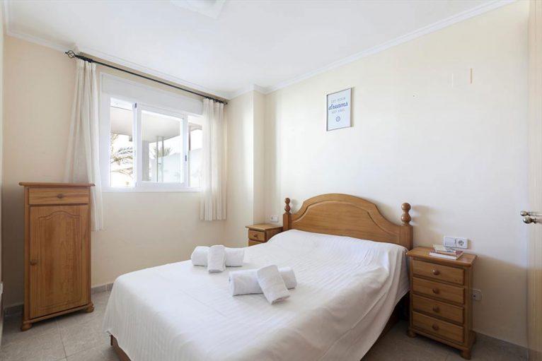 Bedroom of a rental apartment in Dénia - Quality Rent a Villa
