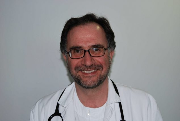 Image: Dr. Miguel Ángel Ciscar, pulmonologist from the Dénia Health Department