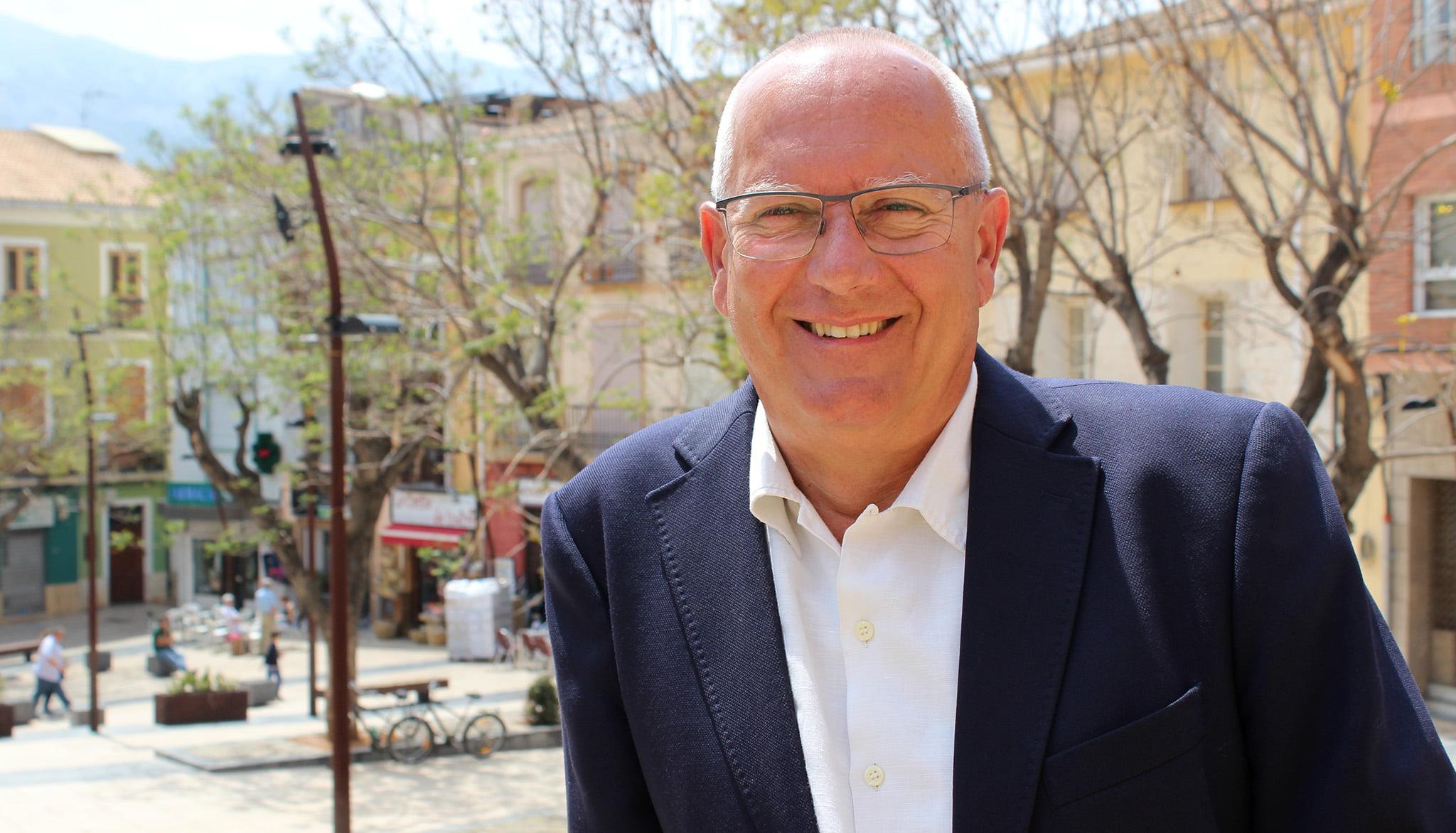El alcalde de Dénia, Vicent Grimalt