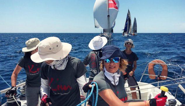 Imatge: Equip de vela de Marina El Portet