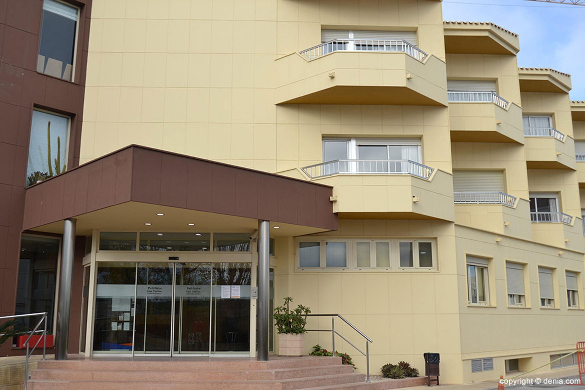 Exterior of HLA San Carlos
