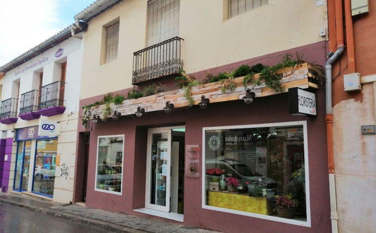 Exterior of Mandarina Florist