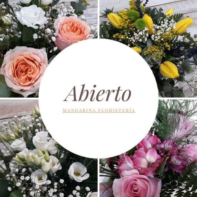 Imatge: Floristeria Mandarina està oberta al teu servei