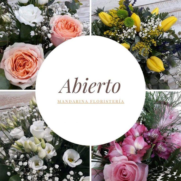 Mandarina Florist is open to your service