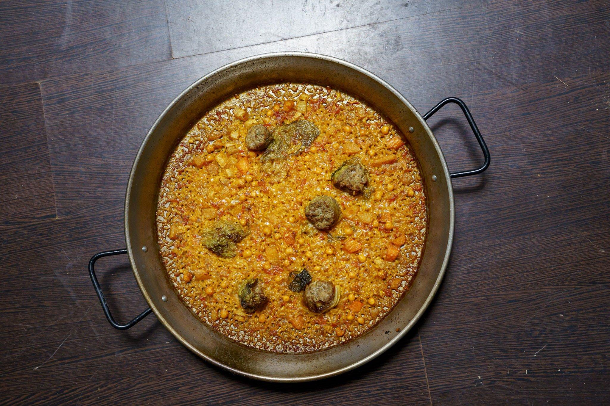 Rice with pot balls - Nyascoca.com