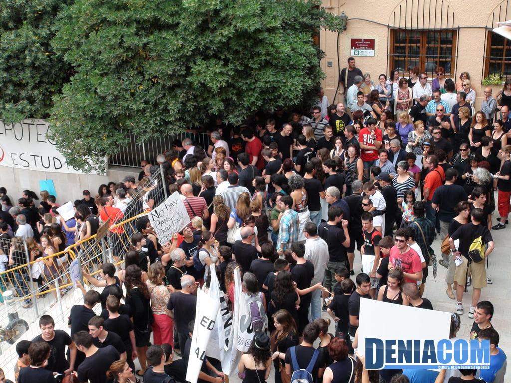Manifestación contra los recortes en educación de 2011
