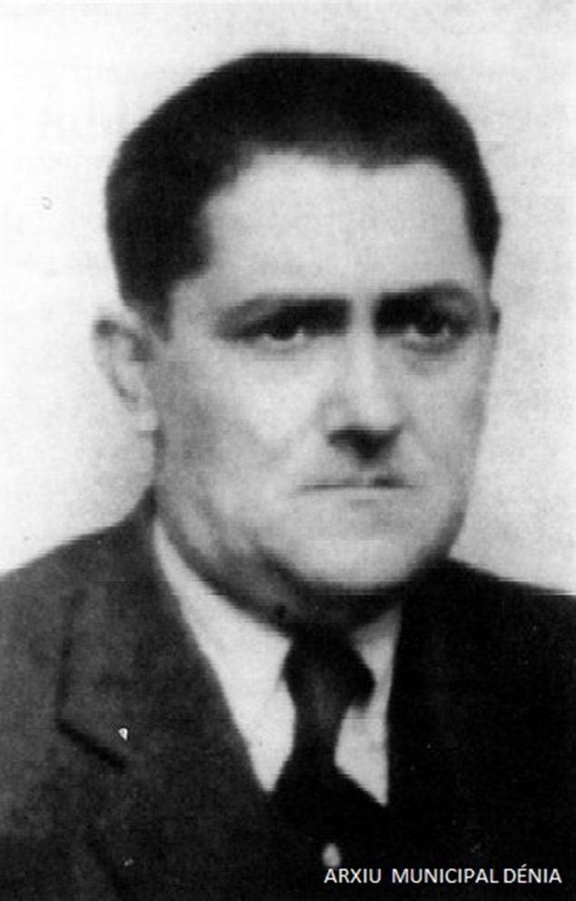 Imagen: Manuel Vallalta, médico de Dénia (Fotografía:  Arxiu Municipal de Dénia)