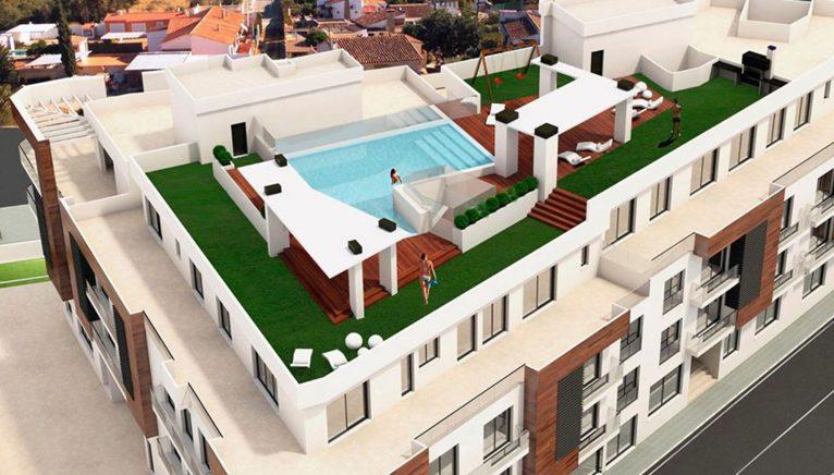 Maqueta de apartamentos en venta - Fine & Country Costa Blanca Norte