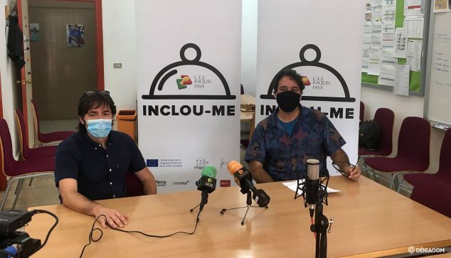 Image: Miquel Ivars and Luis Cañizares present the new edition of INCLOU-ME
