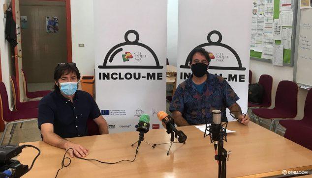 На снимке: Микель Иварс и Луис Канисарес представляют новую редакцию INCLOU-ME
