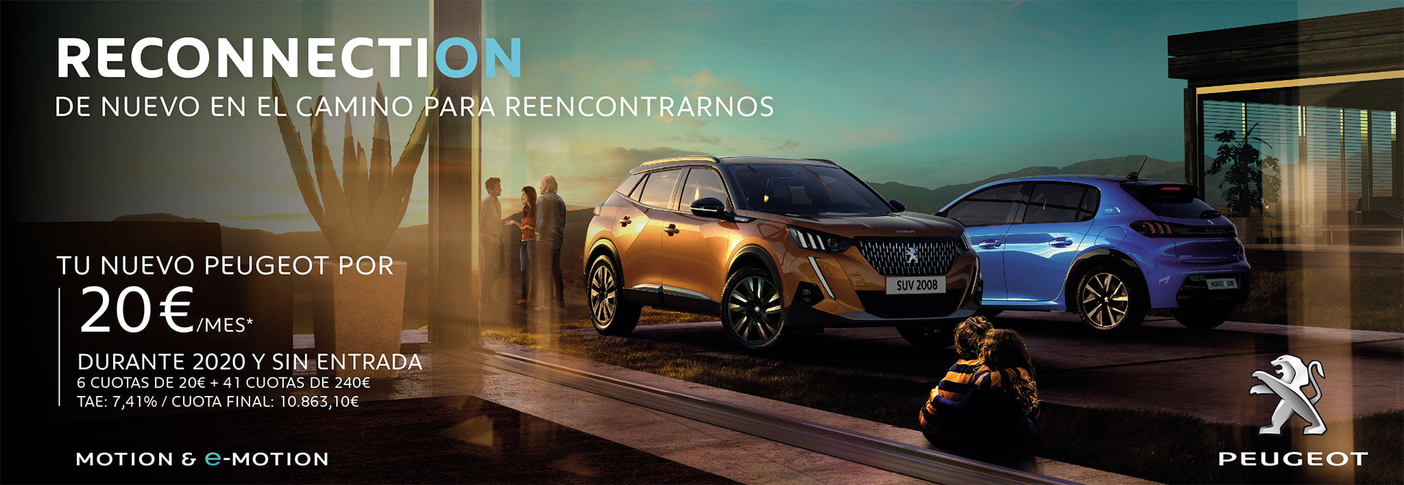 Your new Peugeot with special conditions - Peumóvil