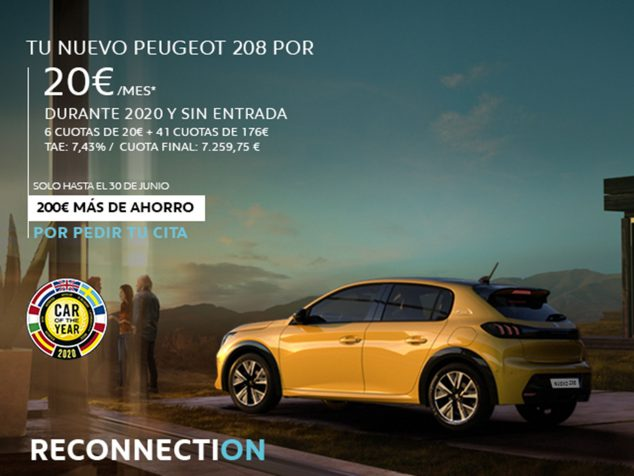 Image: New Peugeot 208 with Reconnection - Peumóvil