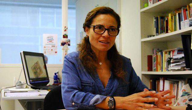 Image: Puri García Segovia, food researcher at the UPV