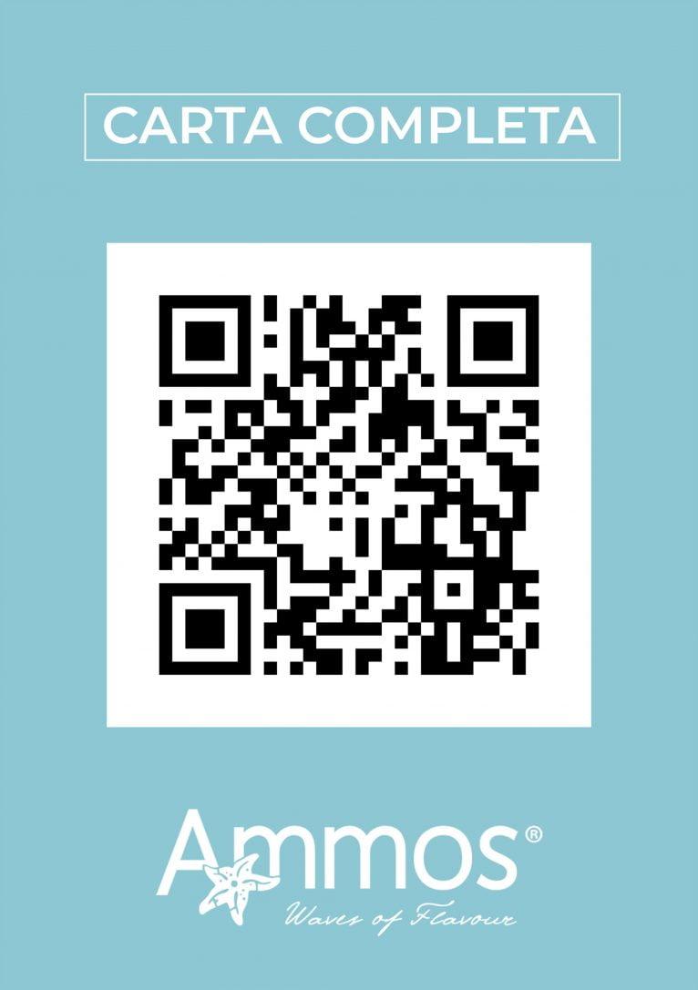 Carta QR de Restaurante Ammos Moraira - Avantcem