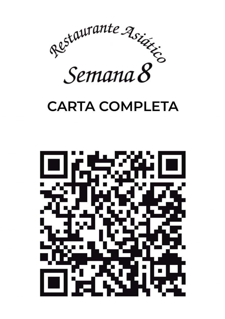 Restaurant menu Week 8 with QR - Avantcem