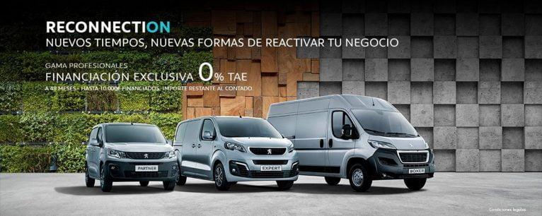 Reconnection para vehículos profesionales - Peumóvil