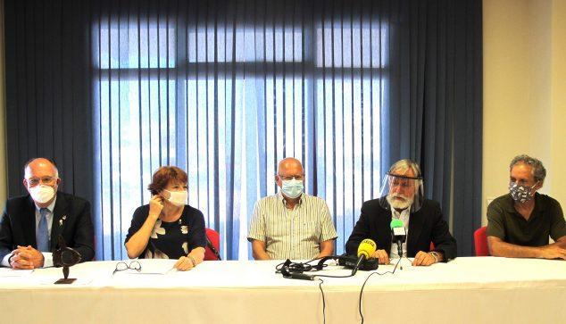 Afbeelding: Persconferentie in Marina de Dénia