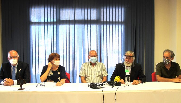 Rueda de prensa en Marina de Dénia