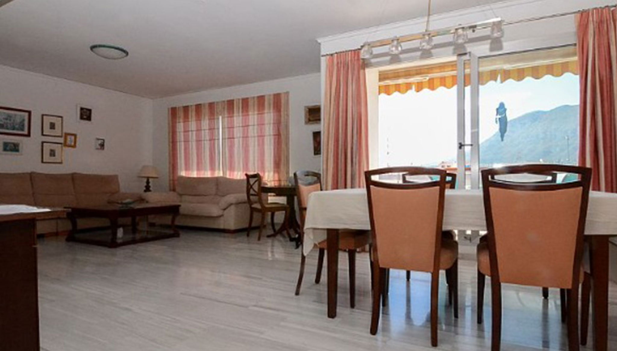 Living room of a penthouse for sale in Dénia - Euroholding