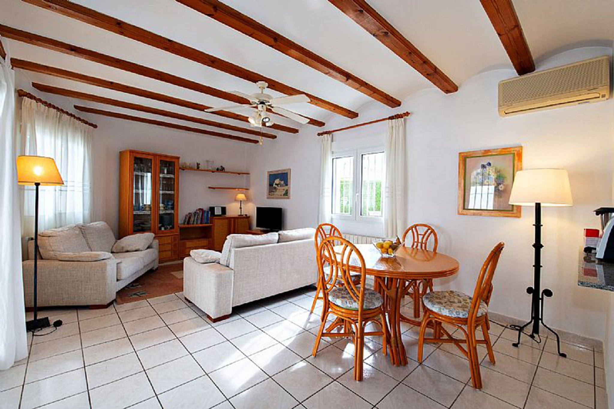 Living room of a chalet for sale in Dénia - Euroholding