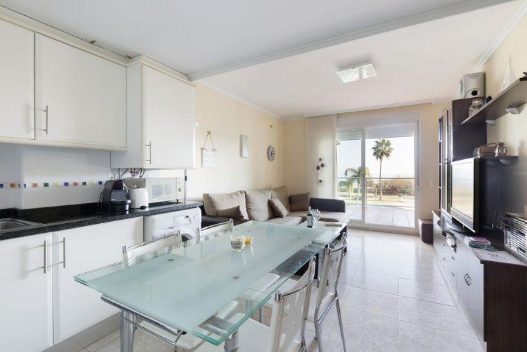 Living room of a rental apartment in Dénia - Quality Rent a Villa