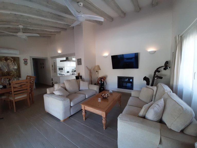 Living room of a holiday rental villa in Dénia - Aguila Rent a Villa