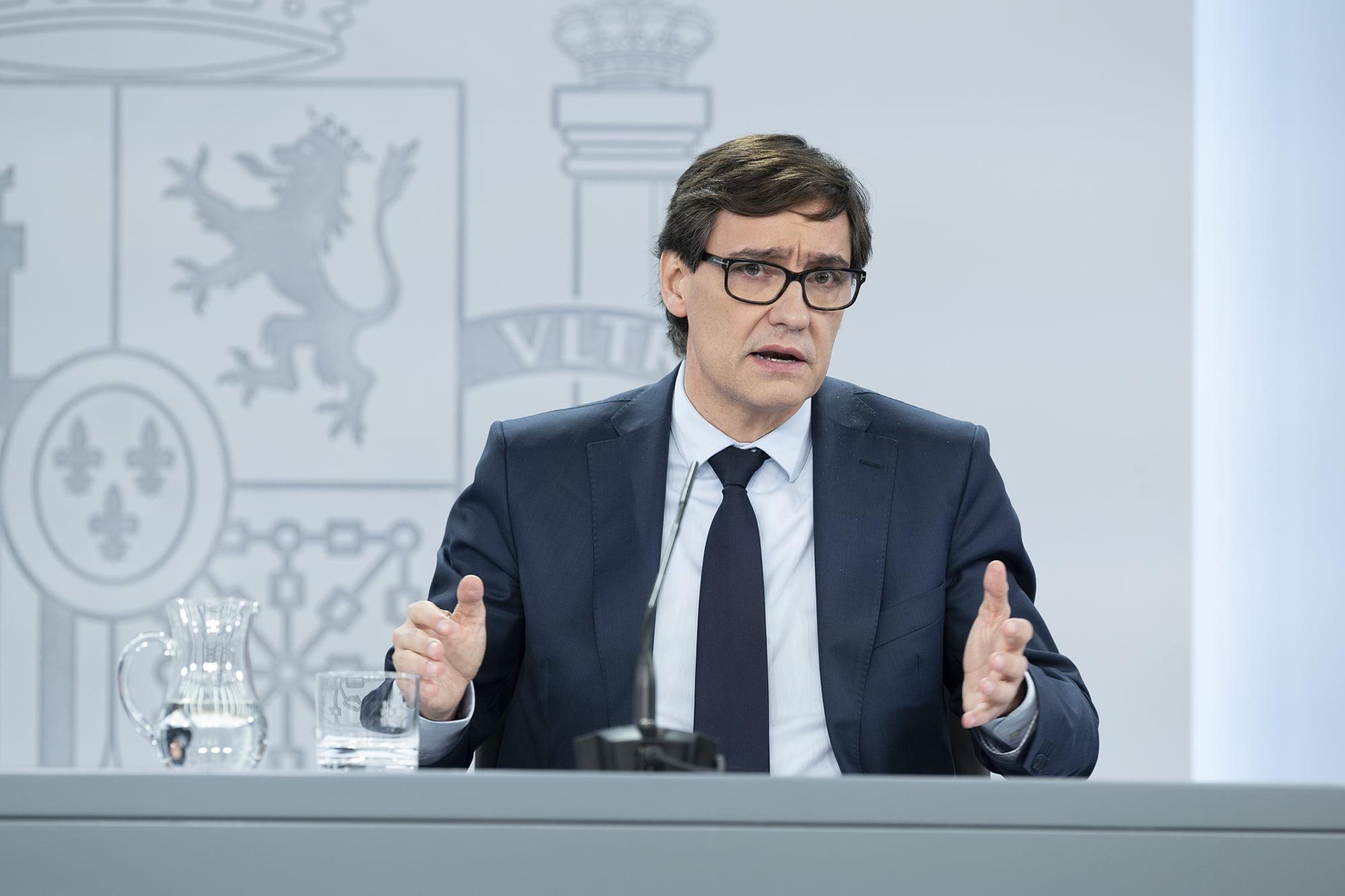 Salvador Illa, Minister of Health
