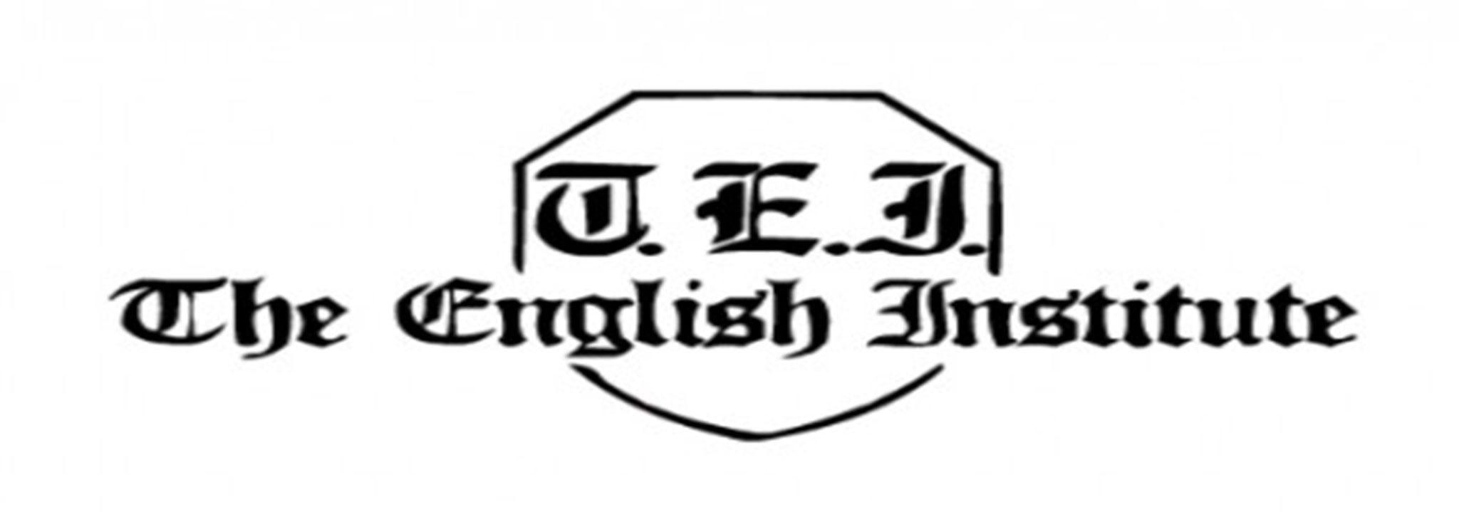 The English Institute logo