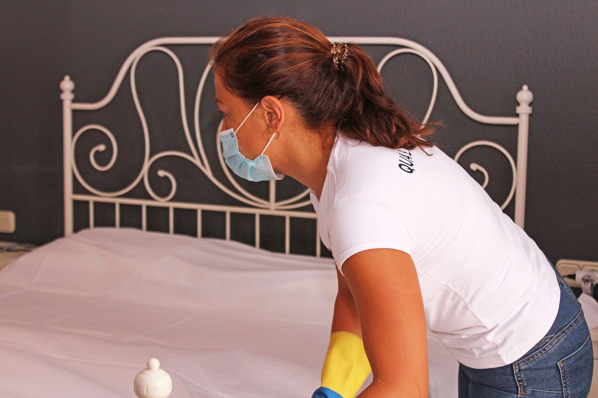 Medidas higiénicas máximas en la preparación de los alojamientos – Quality Rent a Villa