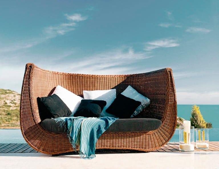 Outdoor sun lounger - Muebles Martínez